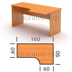 Стол СТ3-16 L/R (160*90*76 см)