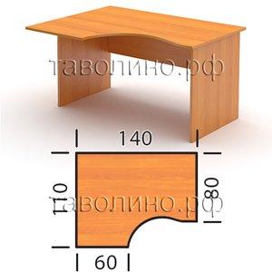 Стол СТ4-14 L/R (140*110*76 см)