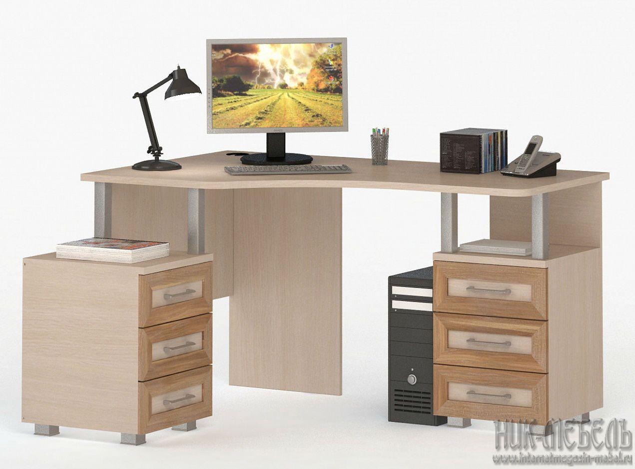 ВасКо-Компьютерный стол (Письменный) Соло-025