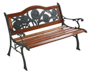 """Товары для дачи и сада:Садовые скамейки, лавочки, столы:Садовая скамейка """"Подсолнух"""" G-330"""