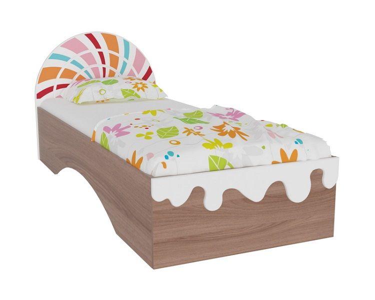 """Кровать односпальная """"Пряничный домик"""""""