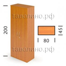 Шкаф Ш62з (80*45*200 см)