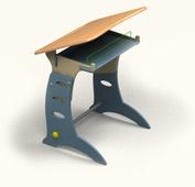 "Детский стол и стул ""Перспектива"""