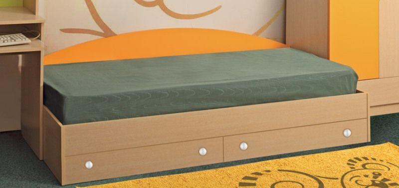 Кровать одинарная Тони с 2-мя ящиками