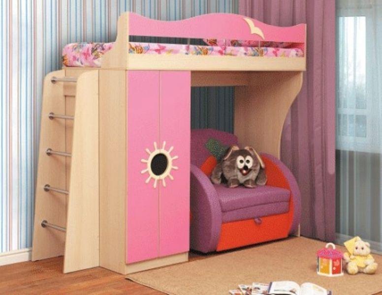 Кровать двухъярусная-Д1 (стандарт)