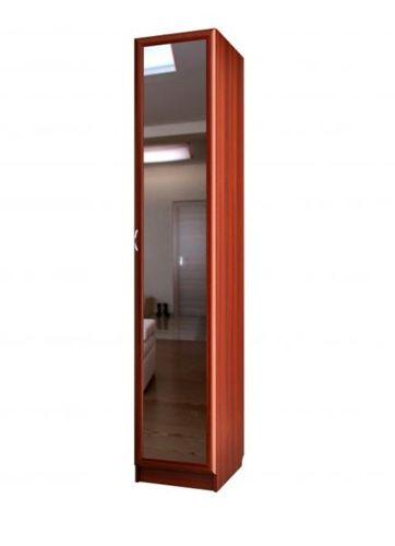 """Универсальный узкий шкаф с зеркалом С 409/1 М - мебельная фабрика """"Волхова"""""""
