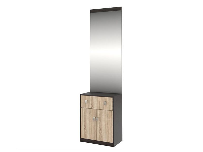 Тумба с зеркалом Шейла СТЛ.300+СТЛ.302 (венге/дуб сонома)