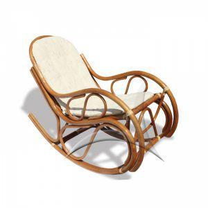 Кресла:Кресла-качалки:Кресло качалка из ротанга 05/04