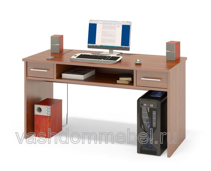 Стол письменный с 2 выдвижными ящиками КСТ-108