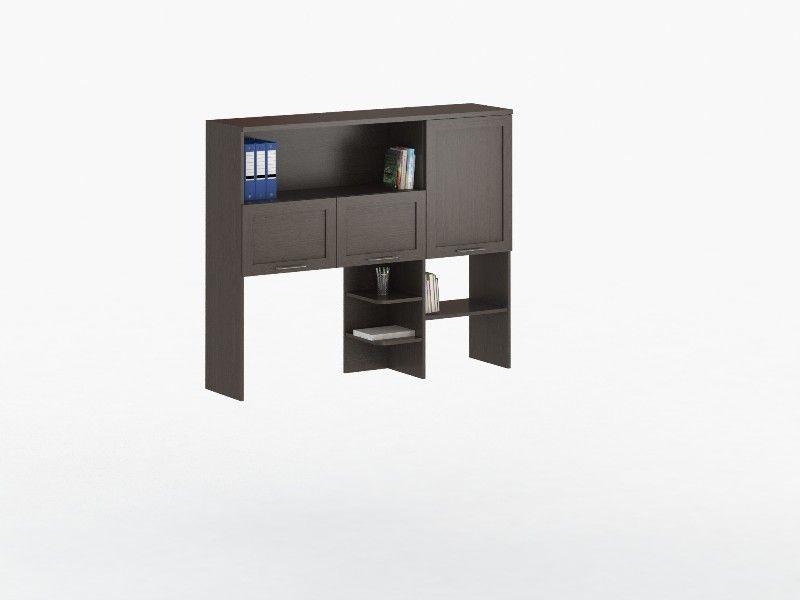Надстройка для стола СОЛО 026 с фасадами ДСП (для столов СОЛО 021, 025)