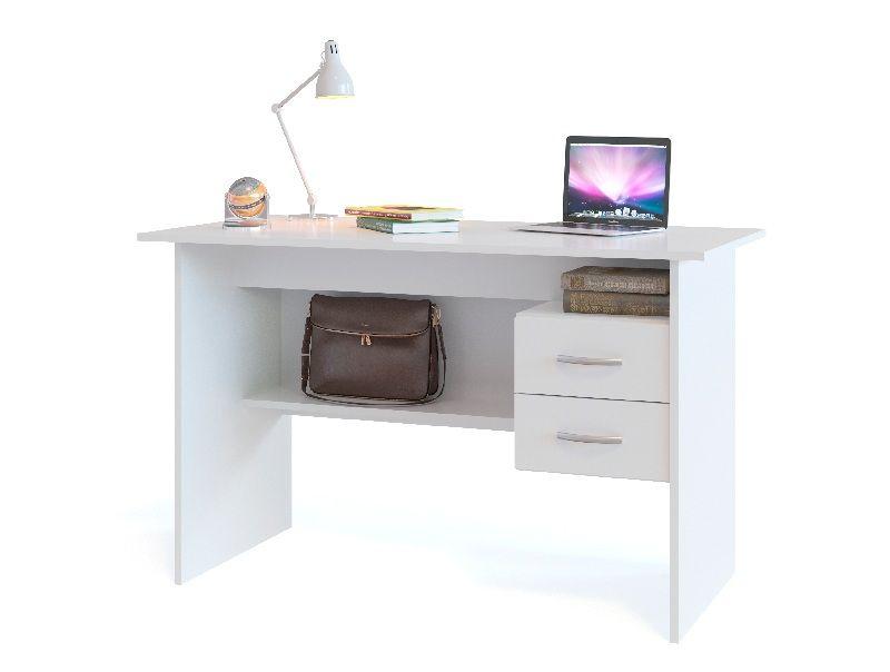 Стол письменный со встроенной тумбой СПм-07Б