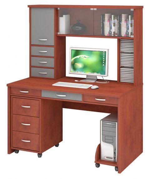 Письменный стол СП-80 с надстройкой