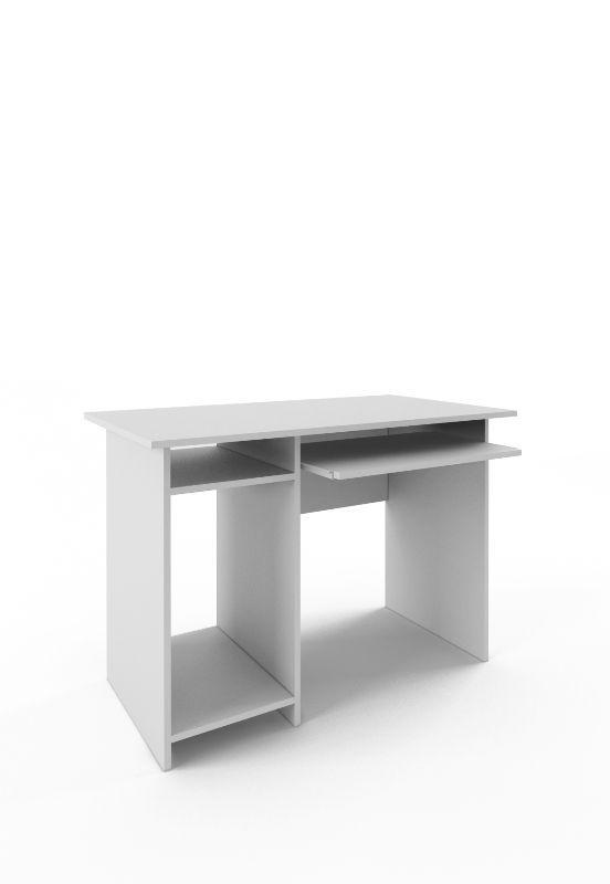 Стол письменный «Милан-4» белый
