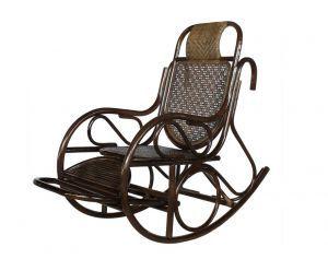 Кресла:Кресла-качалки:Кресло-качалка Bali 05/15 с выдвижной подножкой