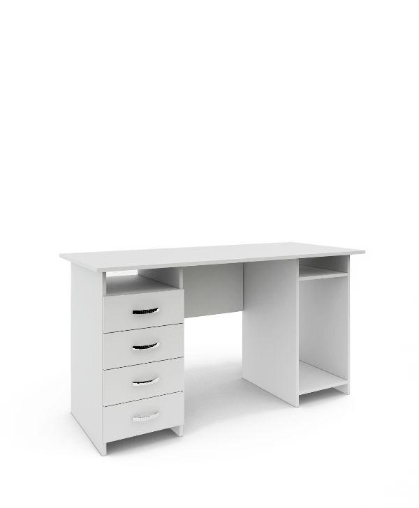 Стол письменный «Милан-6» белый
