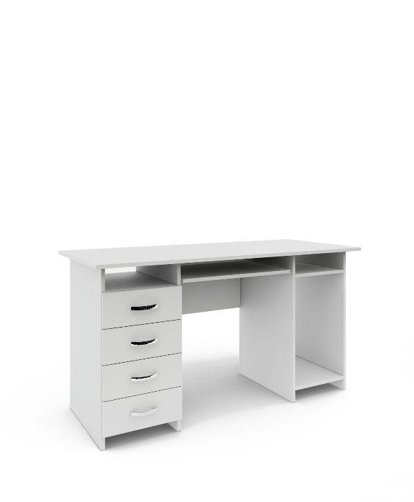 Стол письменный «Милан-6П» белый