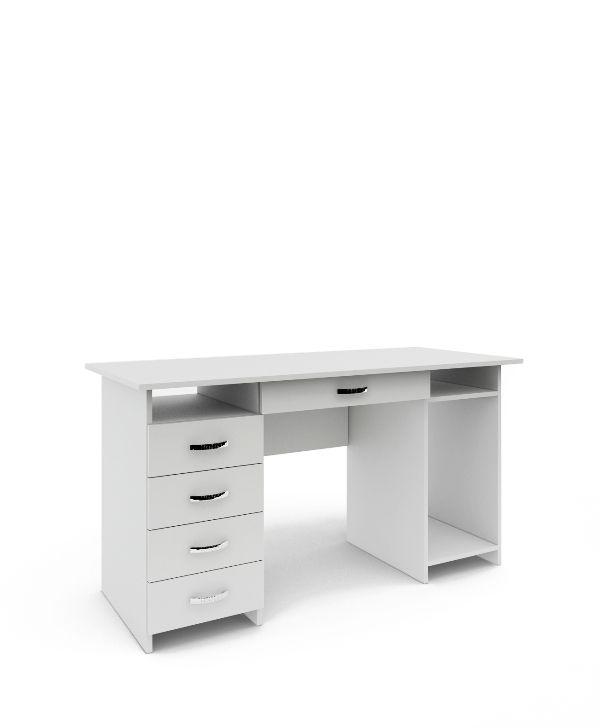 Стол письменный «Милан-6Я» белый