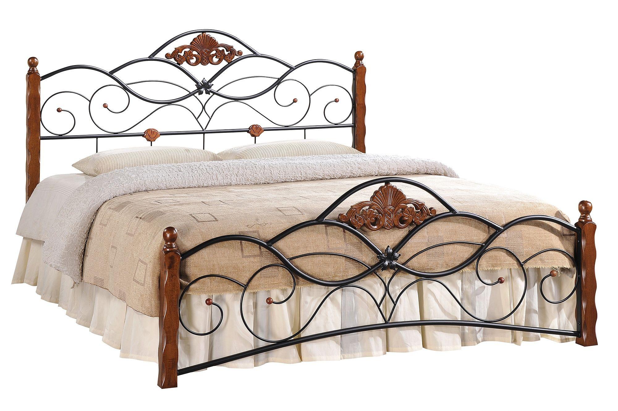 Кровать кованая Канцона (Canzona) + основание
