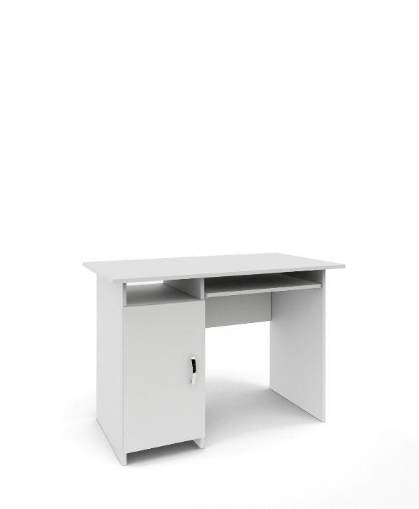 Стол письменный «Милан-8» белый