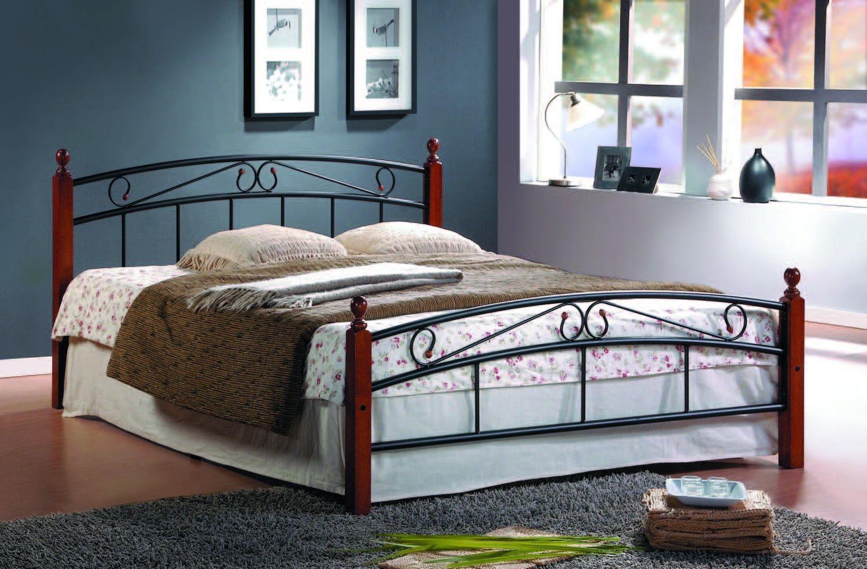 Кровать AT 8077 (метал- каркас) + основание 5280
