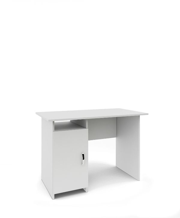 Стол письменный «Милан-9Д» белый