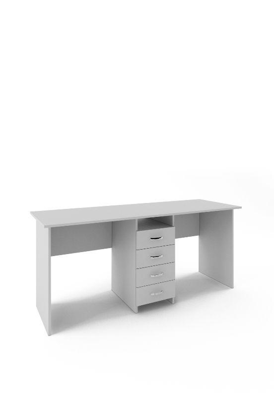 Стол письменный «Тандем-2» белый