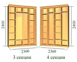 Шкаф-купе системы Престиж (6)