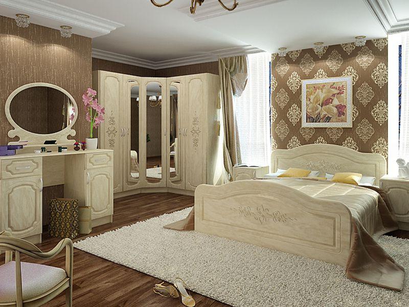 Модульная спальня Фиеста (перламутр)