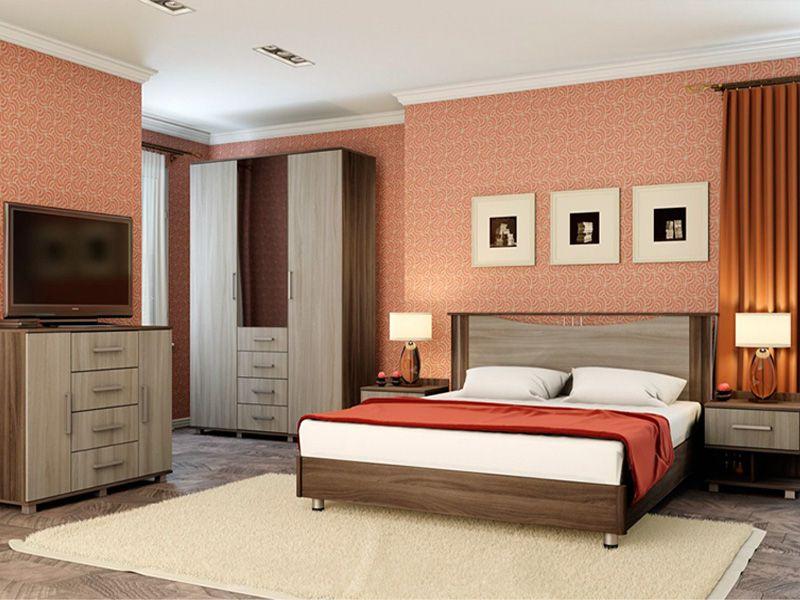 Модульная спальня Венеция (ясень шимо)