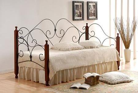 Кровать односпальная кованая Соната (Sonata)