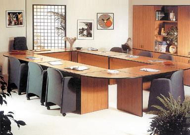 Отечественная мебель: корпусная мебель для офиса серии «Дин-Р» (2)
