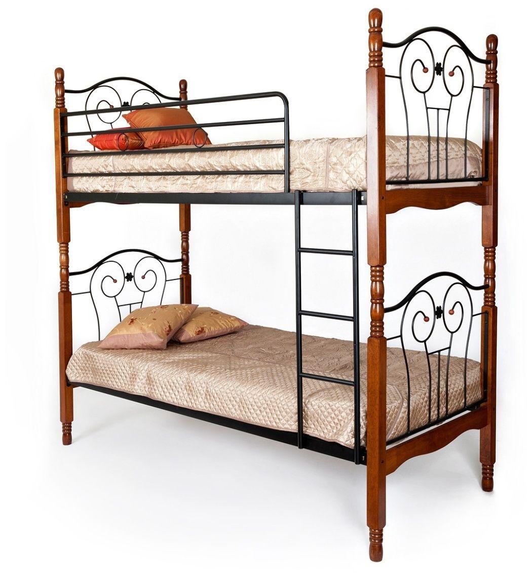 Кровать двухъярусная AT 608 (метал- каркас) + основание