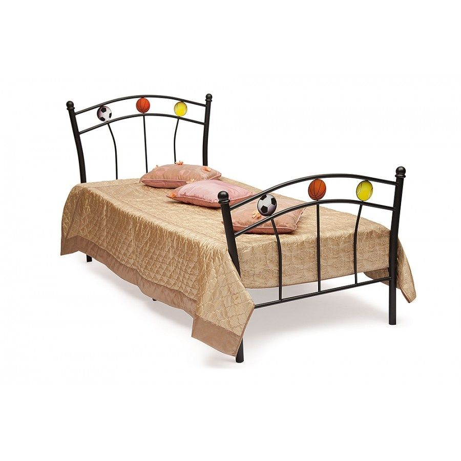Кровать односпальная Мундиаль (Mundial) + основание