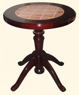 Стол круглый с плиткой Каприз
