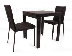 Столы и стулья:Обеденные столы:Cтол обеденный раздвижной 1107 black