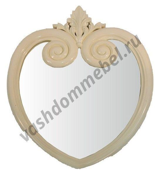 Зеркало MK-2475-IV, 57*3*84 см, цвет: слоновая кость