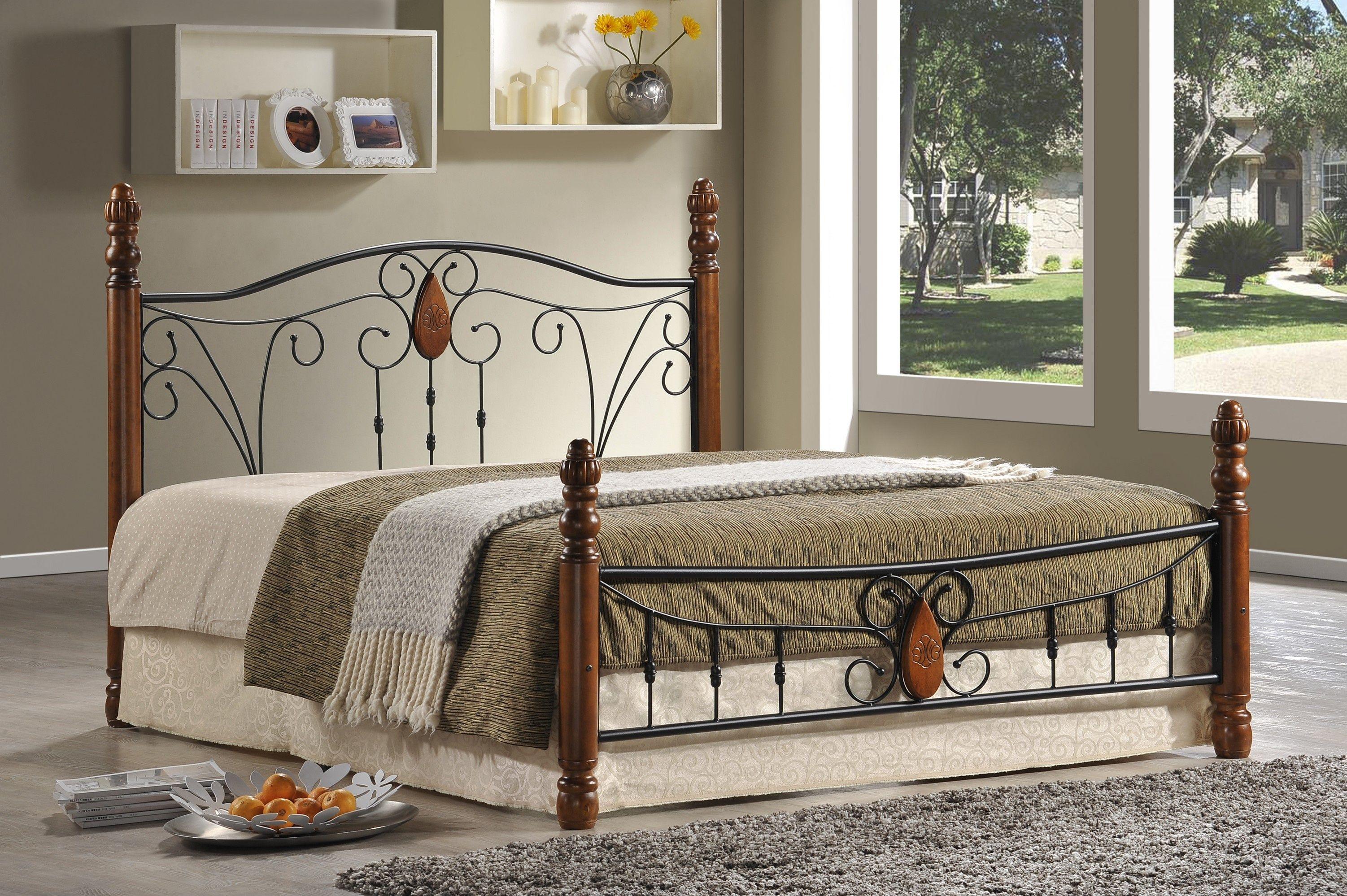 Кровать AT 9003 (метал- каркас) + основание