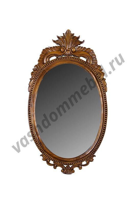 Зеркало MK-2454-NM, 61*3*113 см, цвет: итальянский орех