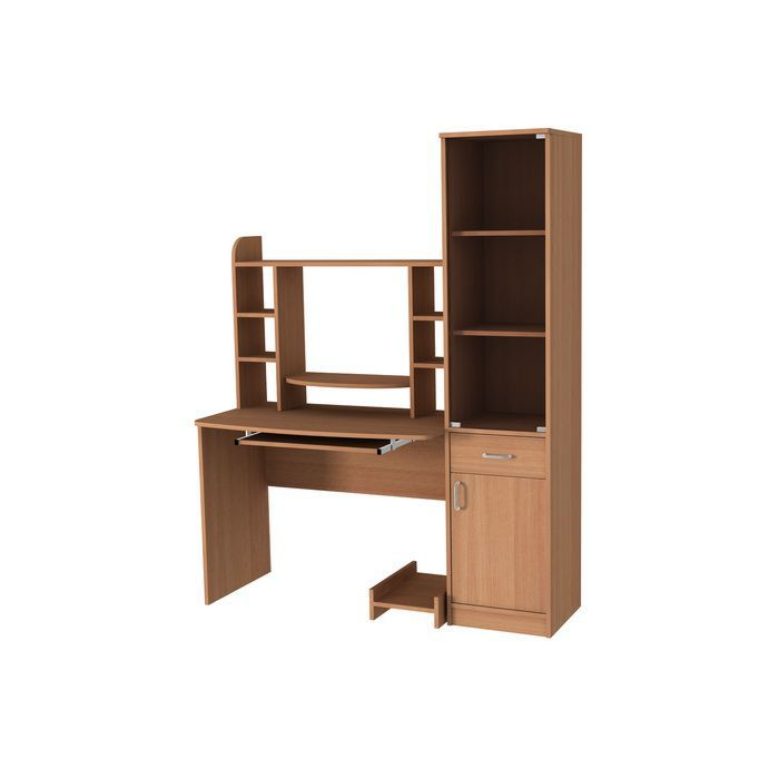 "Компьтерный стол ""Техно-1"" (вишня)"