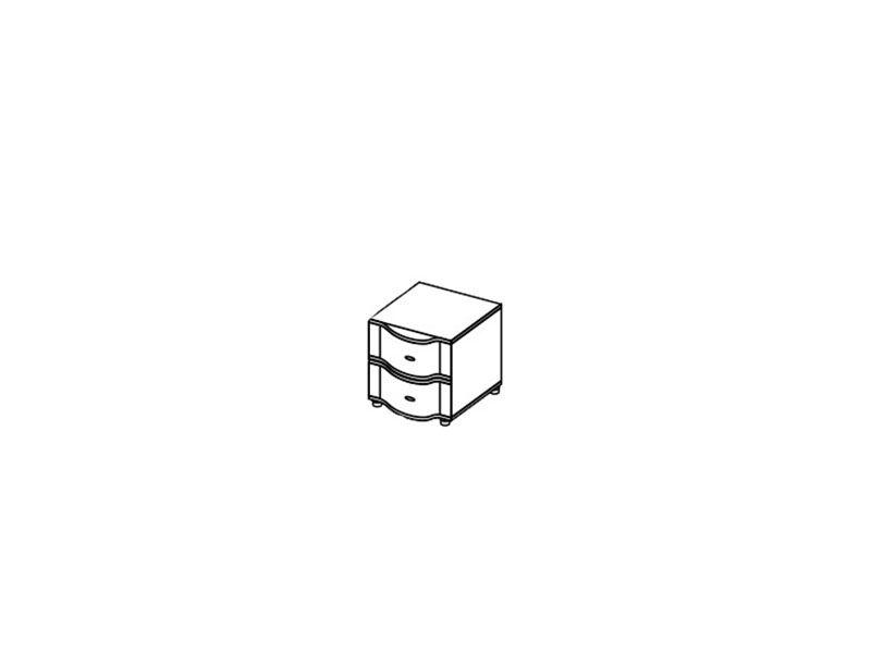 Тумба прикроватная малая Камелия, ТМ