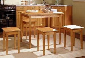 Столы и стулья:Обеденные столы:Обеденный стол (прямая ножка) раскладной