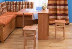 Столы и стулья:Обеденные столы:Обеденный стол-книжка раскладной