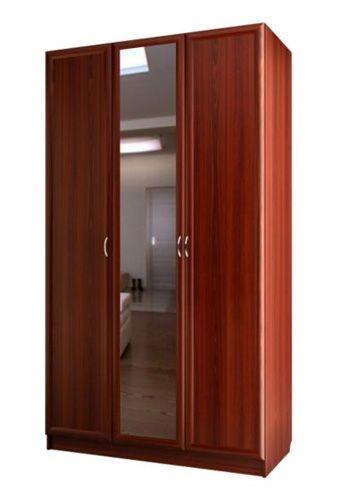 """Трехдверный шкаф с зеркалом С 404/1 М - мебельная фабрика """"Волхова"""""""
