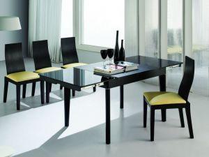 Столы и стулья:Обеденные столы:Раздвижной обеденный стол А708L-K