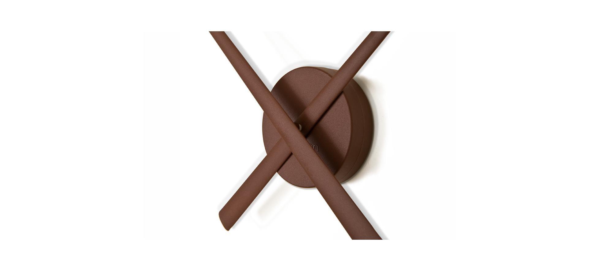 Часы Oj Chocolate (шоколадный)
