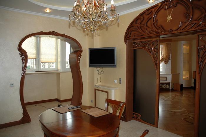 Эксклюзивные интерьеры и мебель из дерева