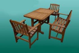 Дачный комплект (стол, скамейка, кресло)