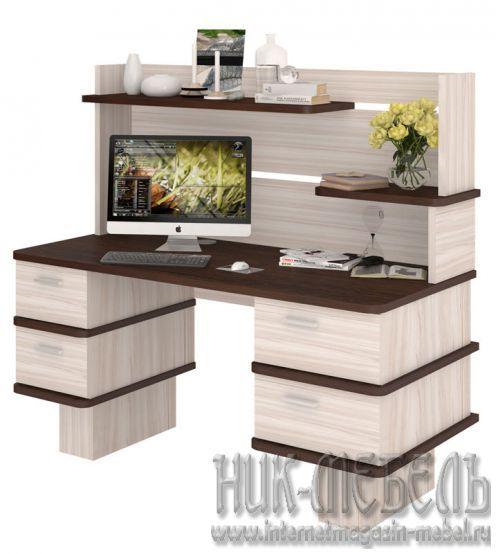 Мэрдэс-Письменный (компьютерный) стол СД-25