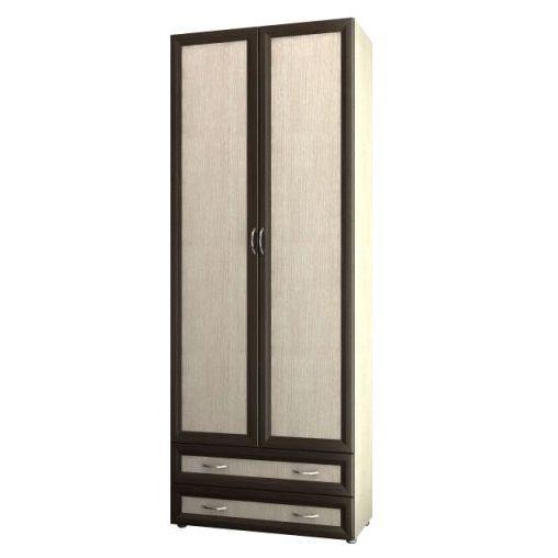 """Двухдверный шкаф с двумя выдвижными ящиками 6.05 - мебельная фабрика """"Волхова"""""""