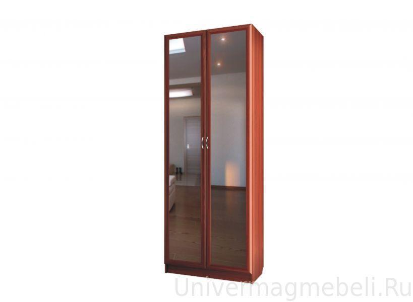 """Шкаф Для платья 2-х дверный с зеркалами C 401/1 М - мебельная фабрика """"Волхова"""""""